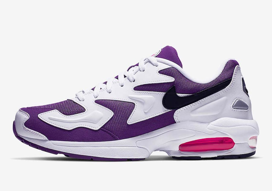 Nike Air Max2 Light (Blancas/Púrpura/Rosas) AO1741-103