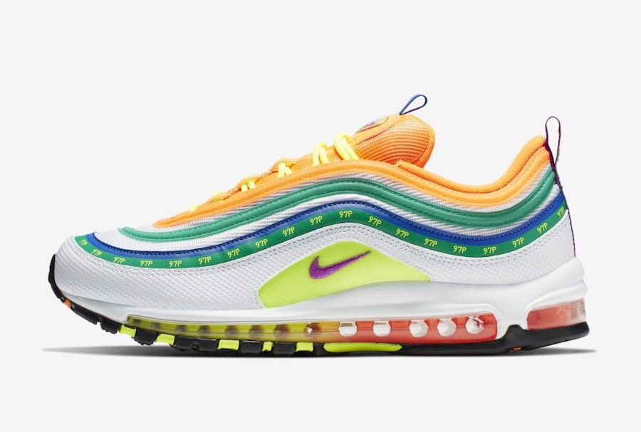 Nike Air Max 97 London (Naranjas/Blancas) CI1504-100