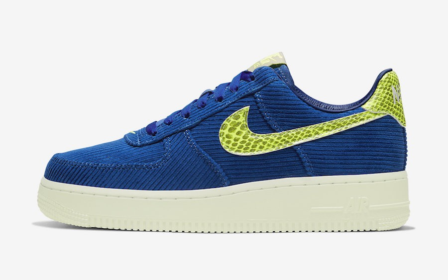 Olivia Kim x Nike Air Force 1 (Azul/Amarillas) CK3314-400