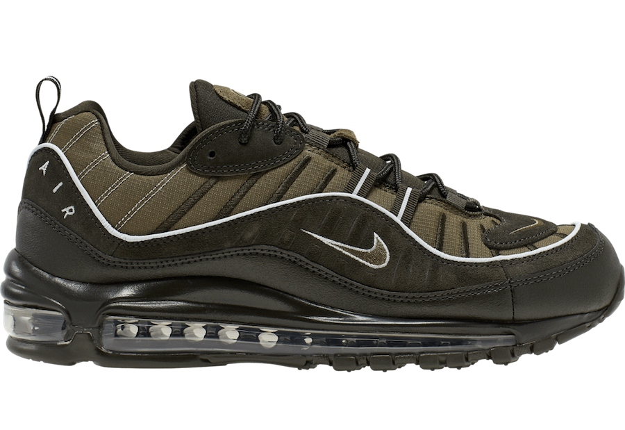 Nike Air Max 98 (Sequoia/Olive/Pure Platinum) 640744-300