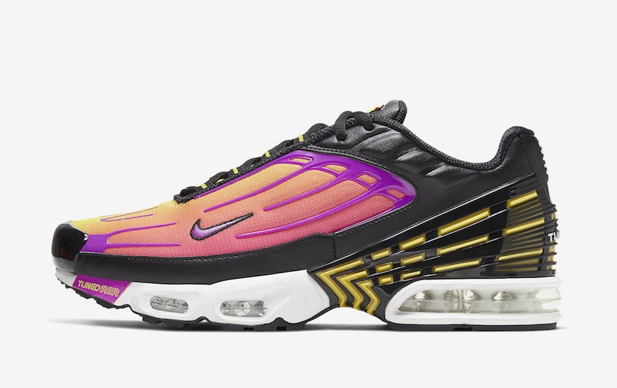 Nike Air Max Plus 3 (Negras/Amarillas/Hyper Violet) CJ9684-003