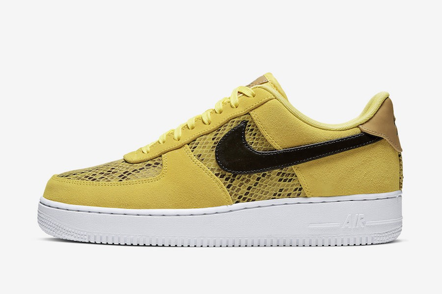 Nike Air Force 1 Low (Amarillas/Negras) BQ4424-700