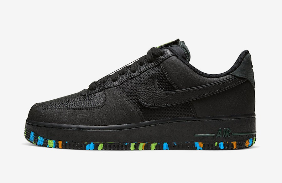 "Nike Air Force 1 ""NYC Parks"" (Negras/Verde) CT1518-001"