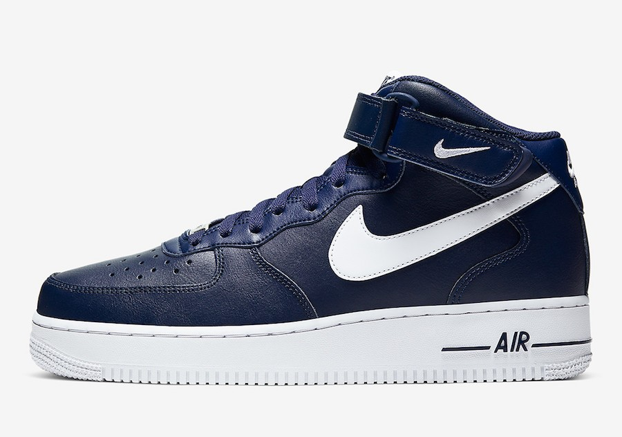 Nike Air Force 1 Mid (Midnight Navy/Blancas) CK4370-400