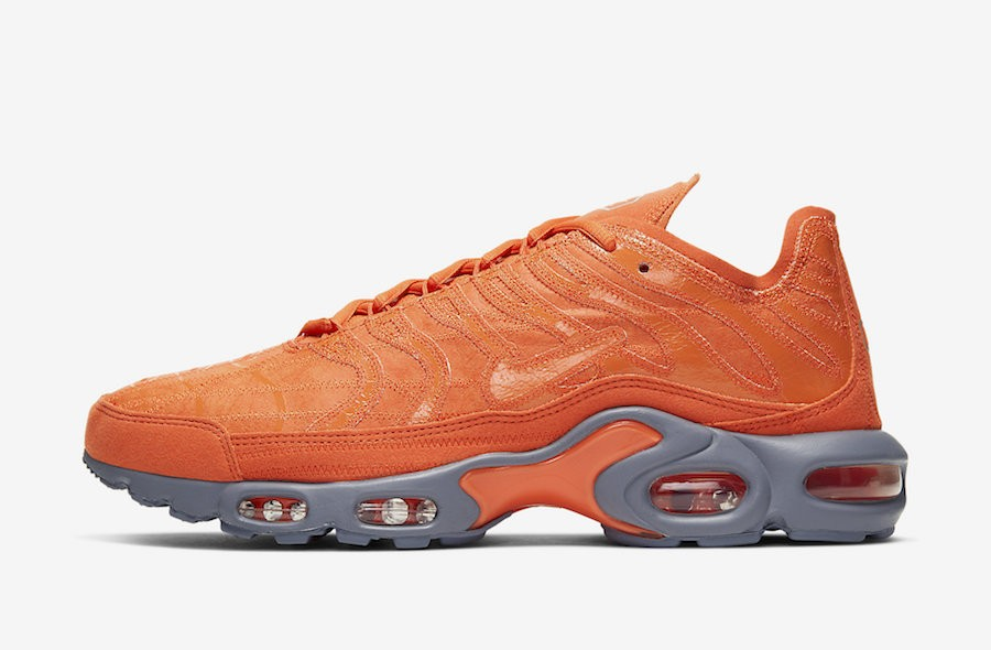 Nike Air Max Plus Decon (Naranjas/Grises oscuro) CD0882-800