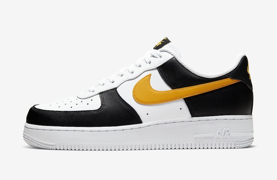 Nike Air Force 1 Low (Negras/Oro/Blancas) CK0806-001