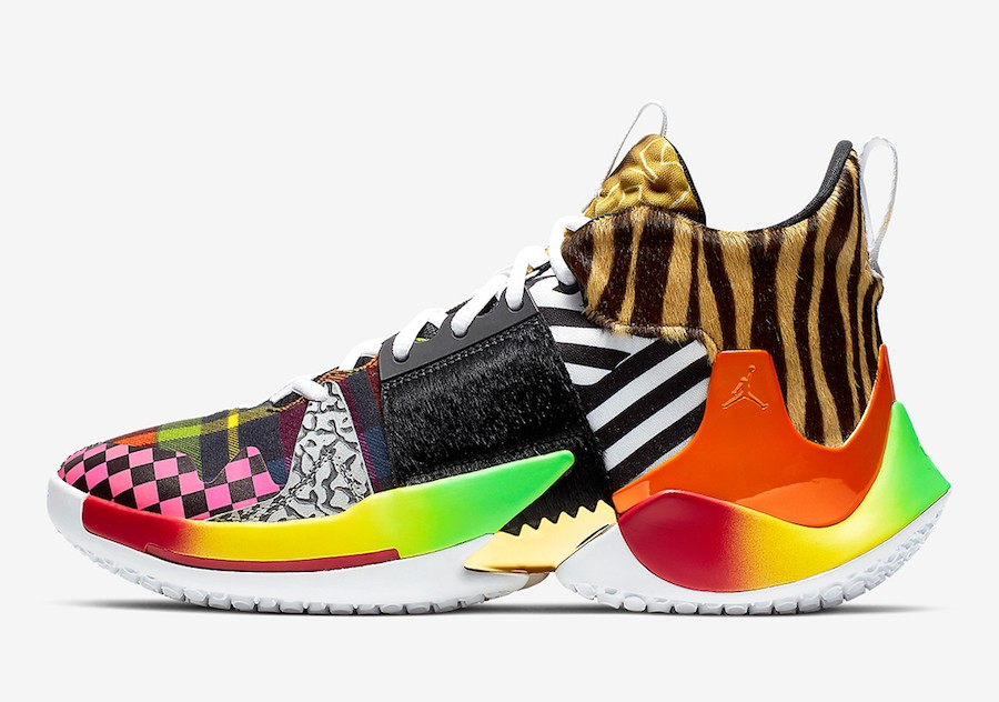 """Jordan Why Not Zer0.2 """"Own The Chaos"""" (Multi-Color/Multi-Color) CT5786-900"""