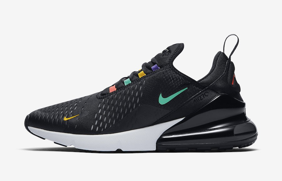 Nike Air Max 270 (Negras/Multicolor) AH8050-023