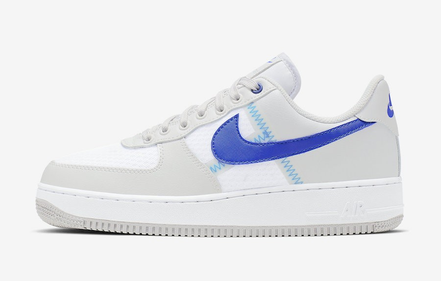 Nike Air Force 1 Low (Grises/Azul-Grises) CI0060-001