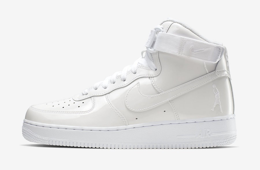 "Nike Air Force 1 High ""Sheed"" (Blancas/Blancas-Blancas) 743546-107"