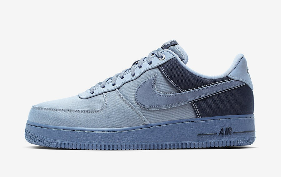 Nike Air Force 1 Premium (Ashen Slate/Azul-Obsidian) CI1116-400