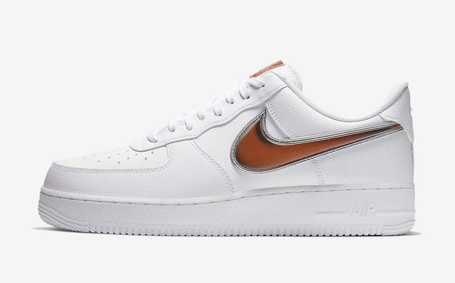 Nike Air Force 1 '07 LV8 3 (Blancas/Púrpura-Infrared) CI6387-171
