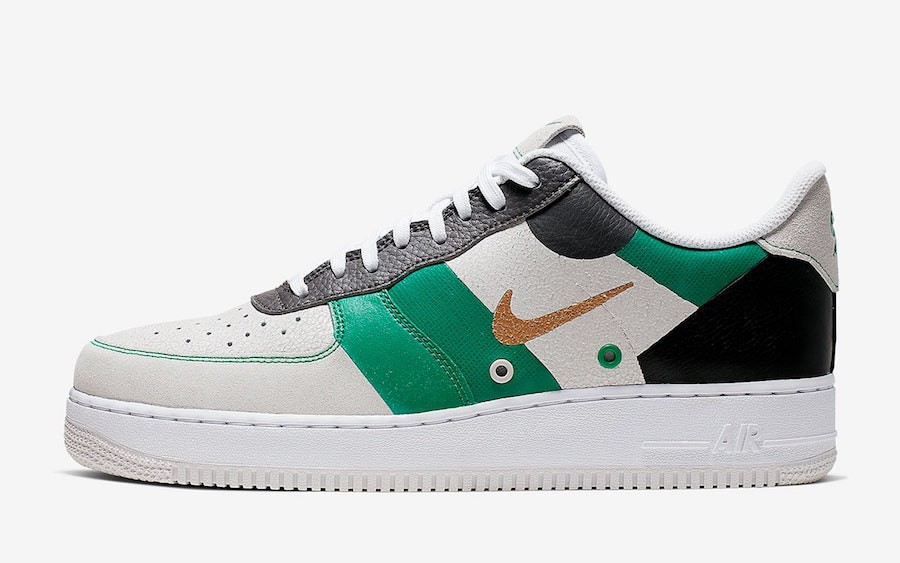 Nike Air Force 1 Low PRM (Sail/Verde/Negras) CI0065-100