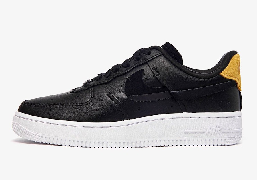 Nike Air Force 1 '07 LX (Negras/Anthracite-Verde) 898889-014
