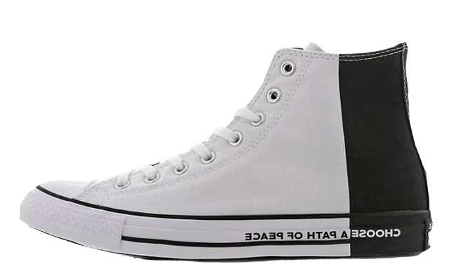 Converse Chuck Taylor All Star High (Blancas/Negras) 165767C