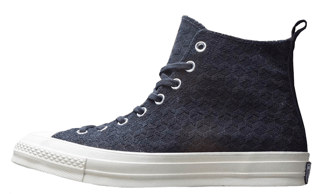 Converse Chuck Taylor All-Star 70s Hi DOE Be Formless (Negras/Negras) 165549C