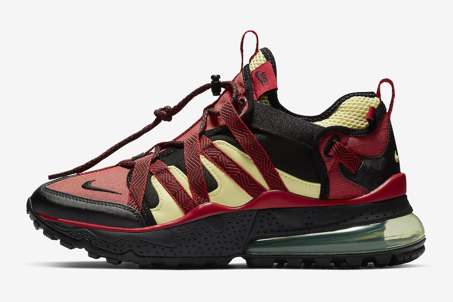 Nike Air Max 270 Bowfin (Negras/Rojas/Light Citron) AJ7200-003
