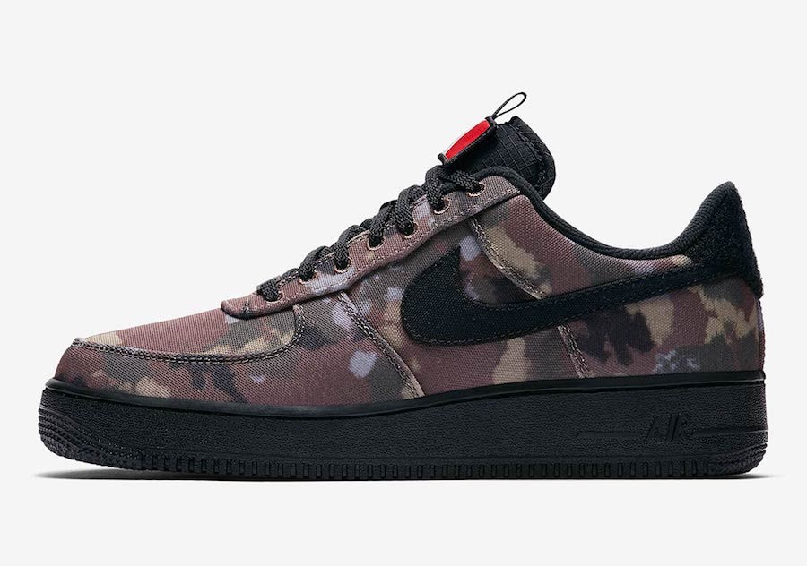"Nike Air Force 1 Low ""Italy Country Camo"" (Marrones/Negras/Cargo Khaki) AV7012-200"
