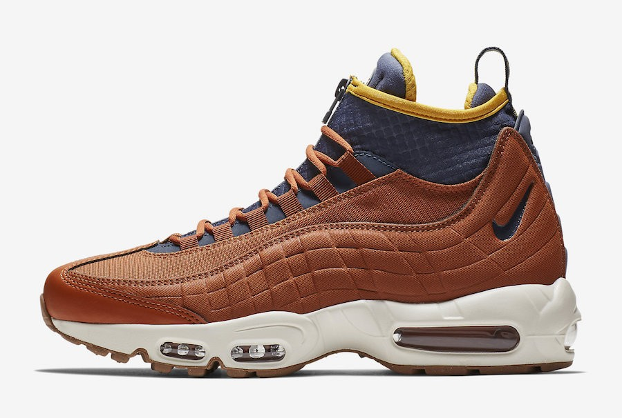 Nike Air Max 95 Sneakerboot (Dark Russet/Azul) 806809-204