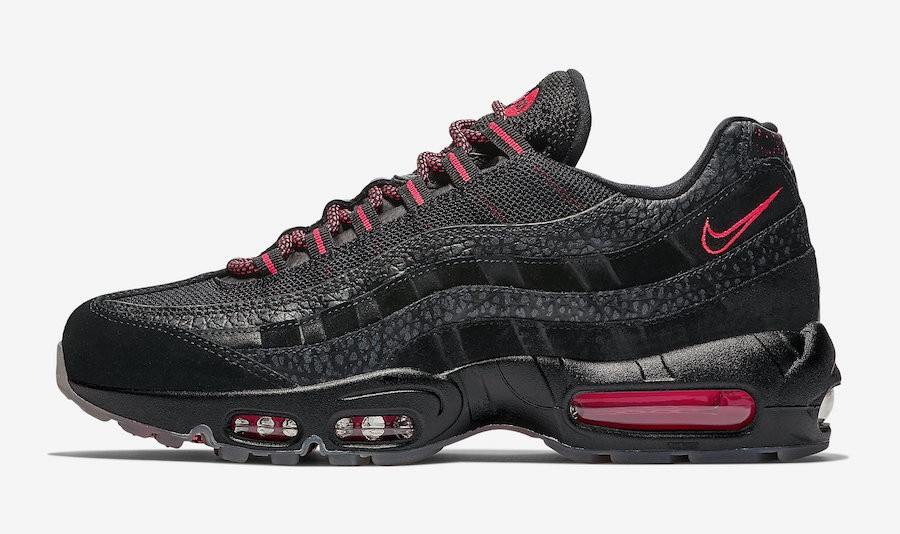 Nike Air Max 95 (Negras/Infrared) AV7014-001