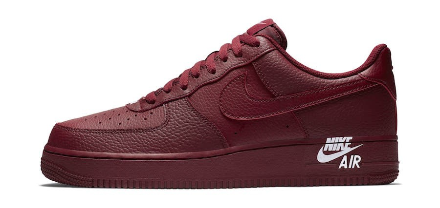 Nike Air Force 1 Low 07 LTHR (Rojas/Blancas) AJ7280-600