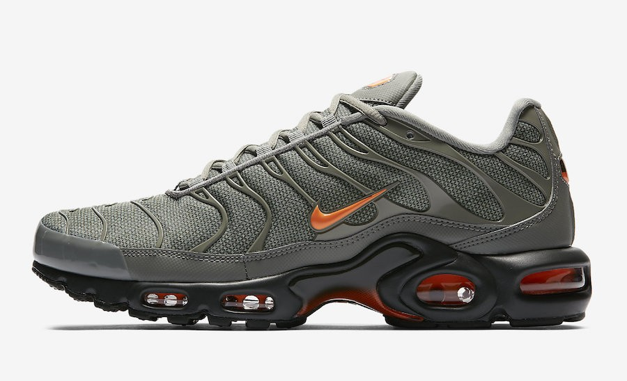 Nike Air Max Plus (Dark Stucco/Naranjas) AJ2013-003