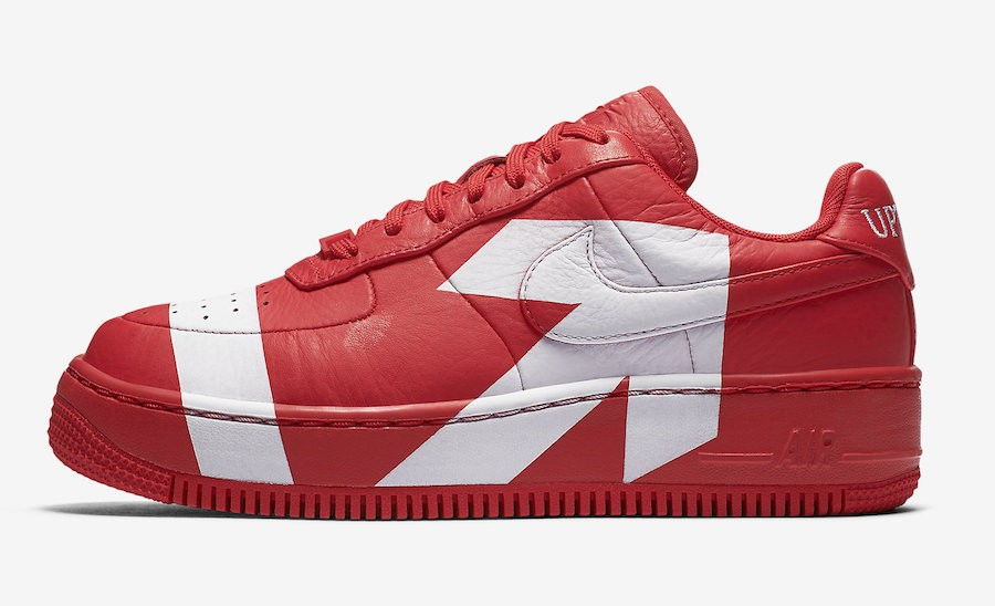 Nike Air Force 1 Low Upstep (Rojas/Blancas) 898421-601