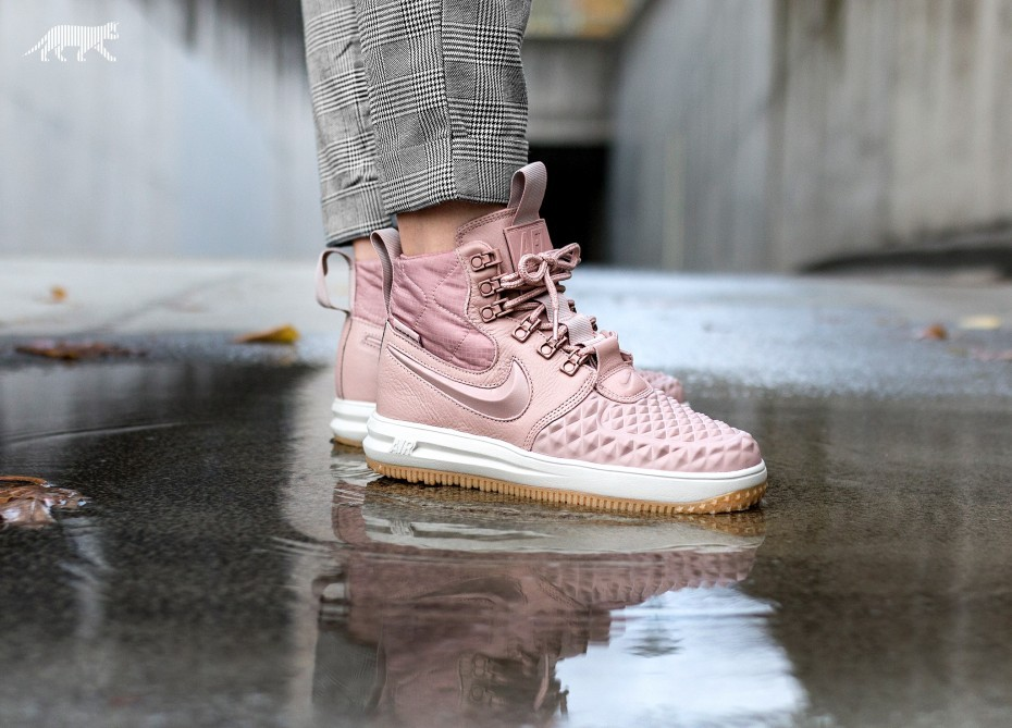 Nike Mujer Lunar Force 1 Duckboot (Rosas/Negras) AA0283-600