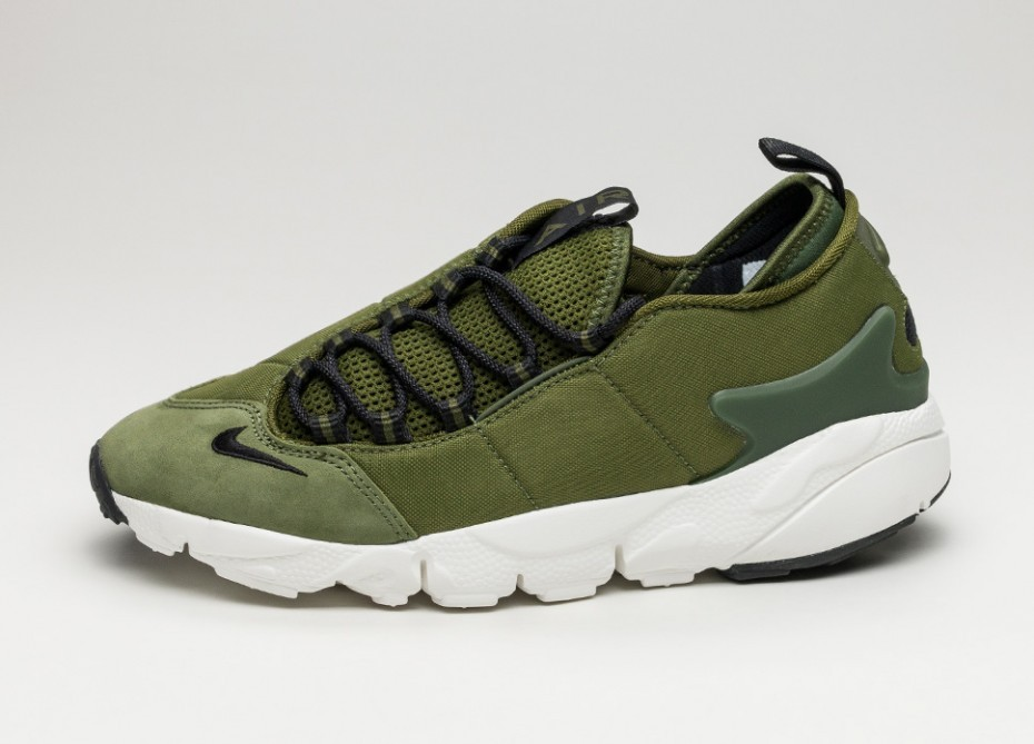 Nike Air Footscape NM (Verde/Negras/Blancas) 852629-300