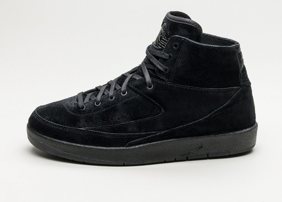 Nike Air Jordan 2 Retro Decon (Negras/Negras) 897521-010