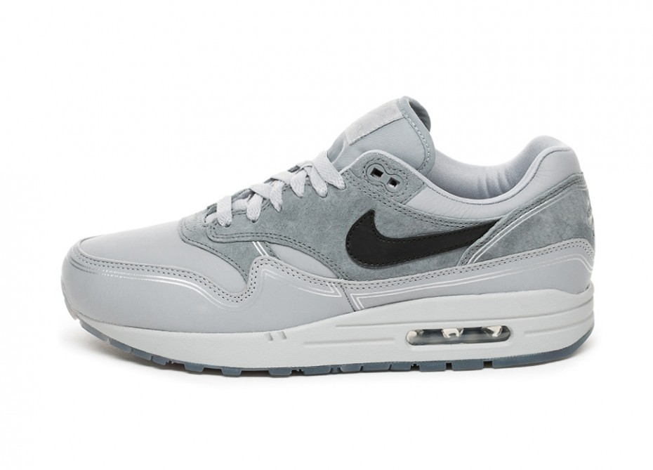 Nike Air Max 1 *By Night* (Grises/Negras/Grises) AV3735-001