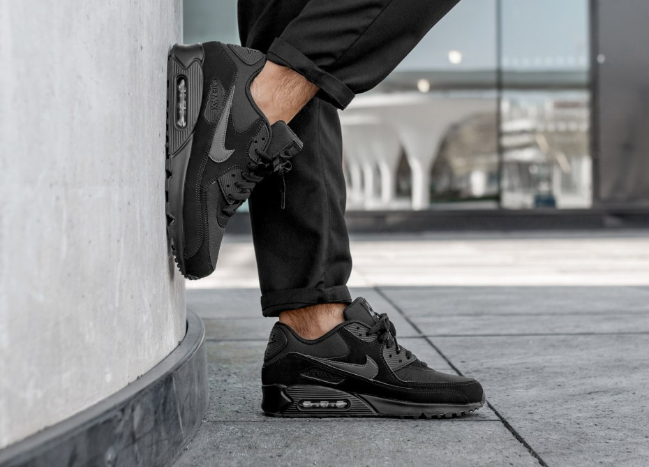Nike Air Max 90 Essential (Negras/Anthracite/Negras) AJ1285-011
