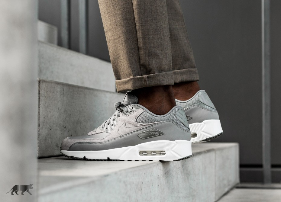 Nike Air Max 90 Ultra 2.0 LTR (Dust/Dust/Blancas) 924447-002
