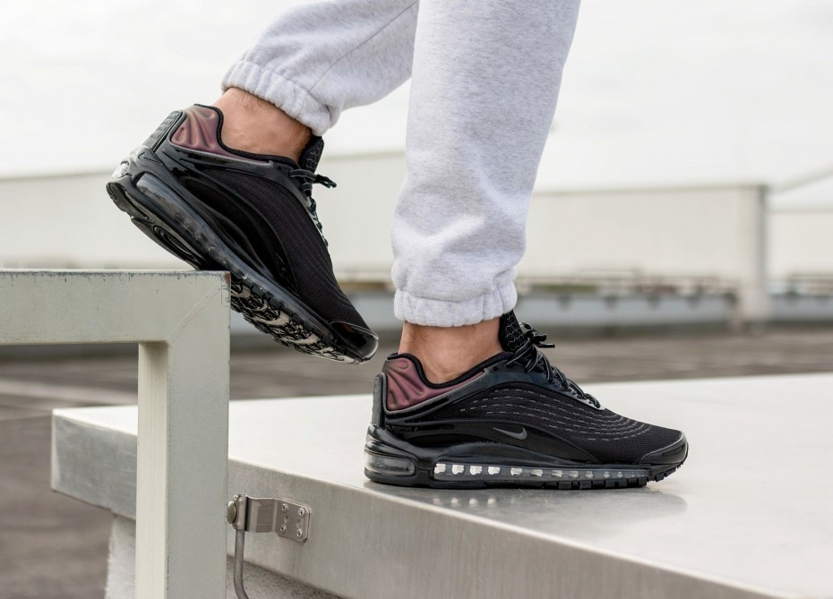 Nike Air Max Deluxe (Negras/Grises oscuro) AV2589-001