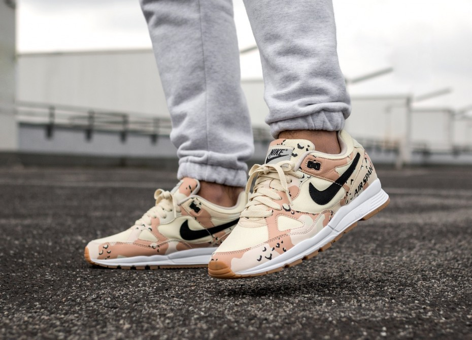 Nike Air Span II PRM (Beach Camo/Marrones) AO1546-200