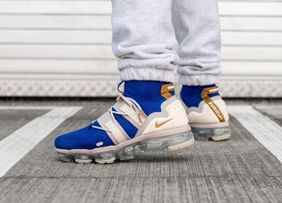 Nike Air Vapormax Flyknit Utility (Azul/Muted Bronze/Moon Particle) AH6834-402