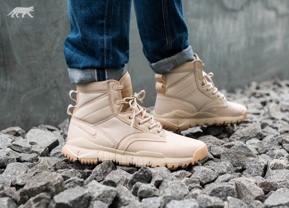 "Nike SFB 6"" NSW Leather (Oatmeal/Oatmeal/Linen) 862507-100"