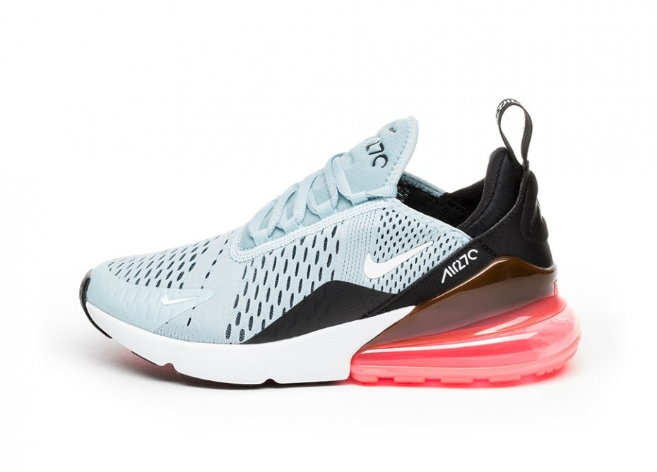 Nike Mujer Air Max 270 (Ocean Bliss/Blancas/Negras/Hot Punch) AH6789-400