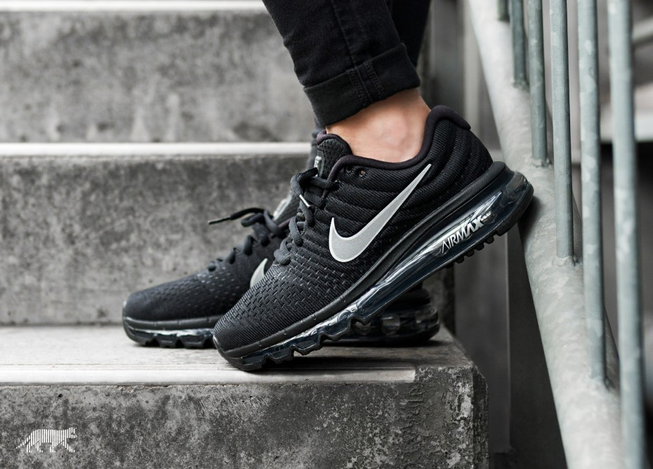 Nike Mujer Air Max 2017 (Negras/Blancas/Anthracite) 849560-001