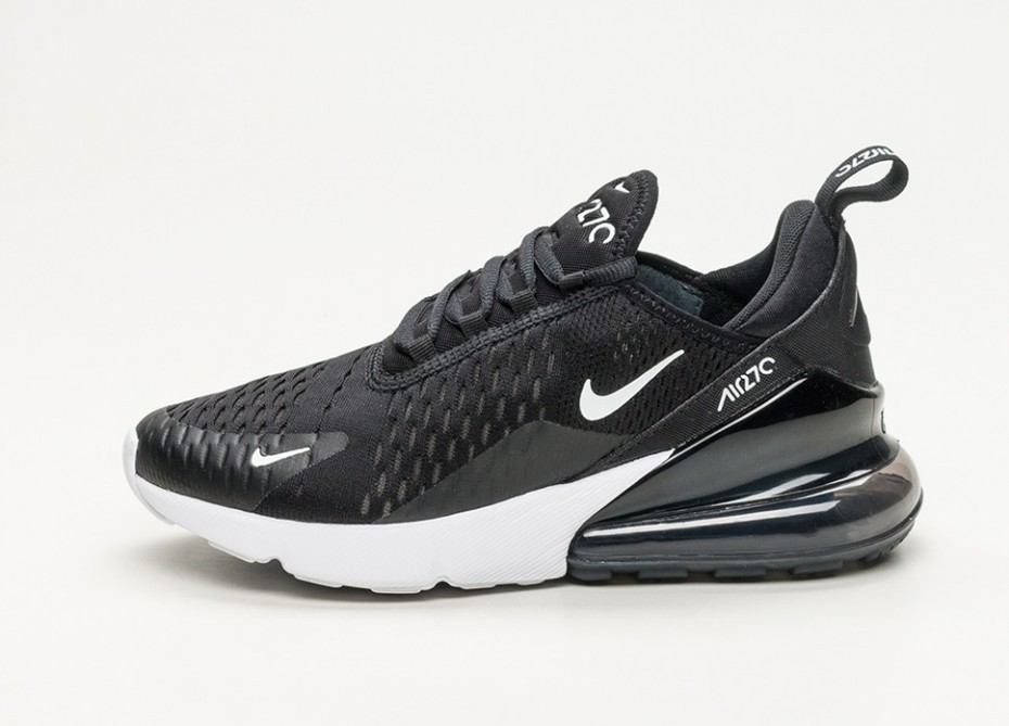 Nike Mujer Air Max 270 (Negras/Anthracite/Blancas) AH6789-001