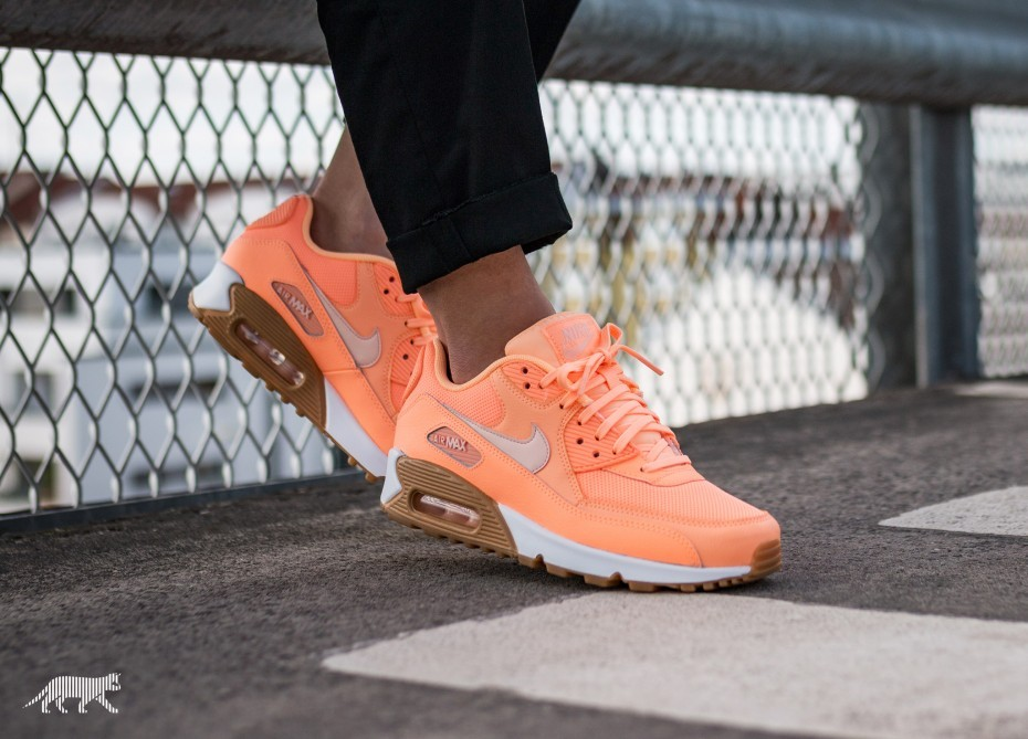 Nike Mujer Air Max 90 (Sunset Tint/Marrones) 325213-802