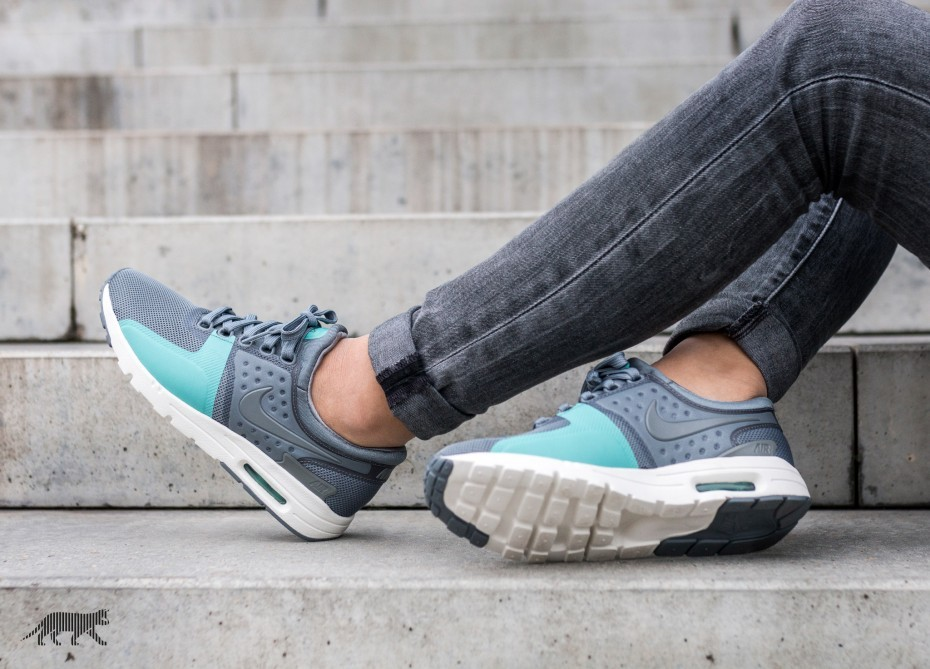 Nike Mujer Air Max Zero (Grises/Sail/Washed Teal) 857661-001