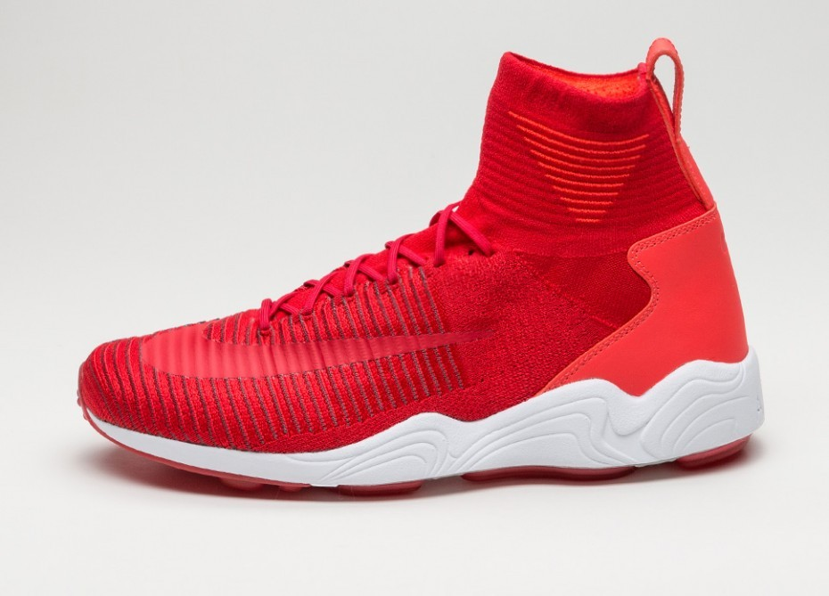 Nike Zoom Mercurial XI Flyknit (Rojas/Grises oscuro) 844626-600