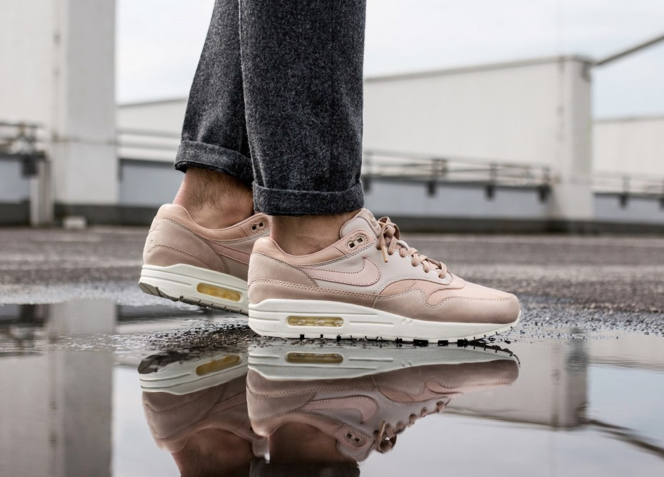 NikeLab Air Max 1 Pinnacle (Sand/Beige/Desert Sand/Sail) 859554-201