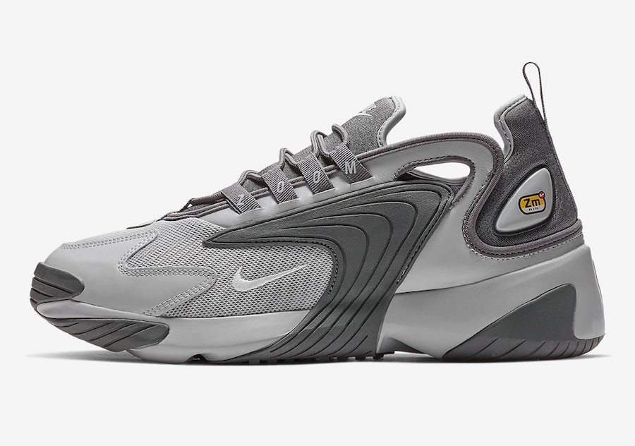 Nike Zoom 2K (Grises/Blancas-Grises oscuro) AO0269-001
