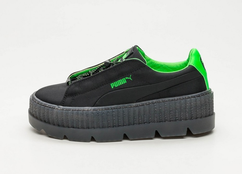 Puma x Fenty Cleated Creeper Surf (Negras/Verde/Negras) 367681-03