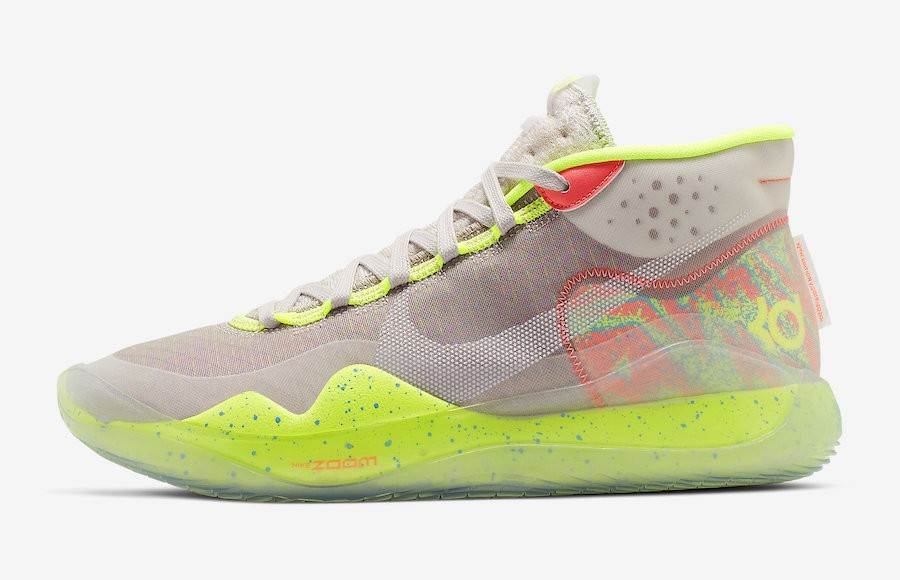 "Nike KD 12 ""90s Kid"" (Multicolor/Blancas) AR4229-900"