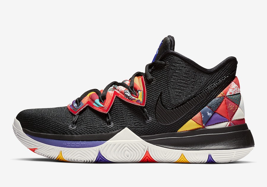 "Nike Kyrie 5 ""Chinese New Year"" (Negras/Multi) AO2919-010"