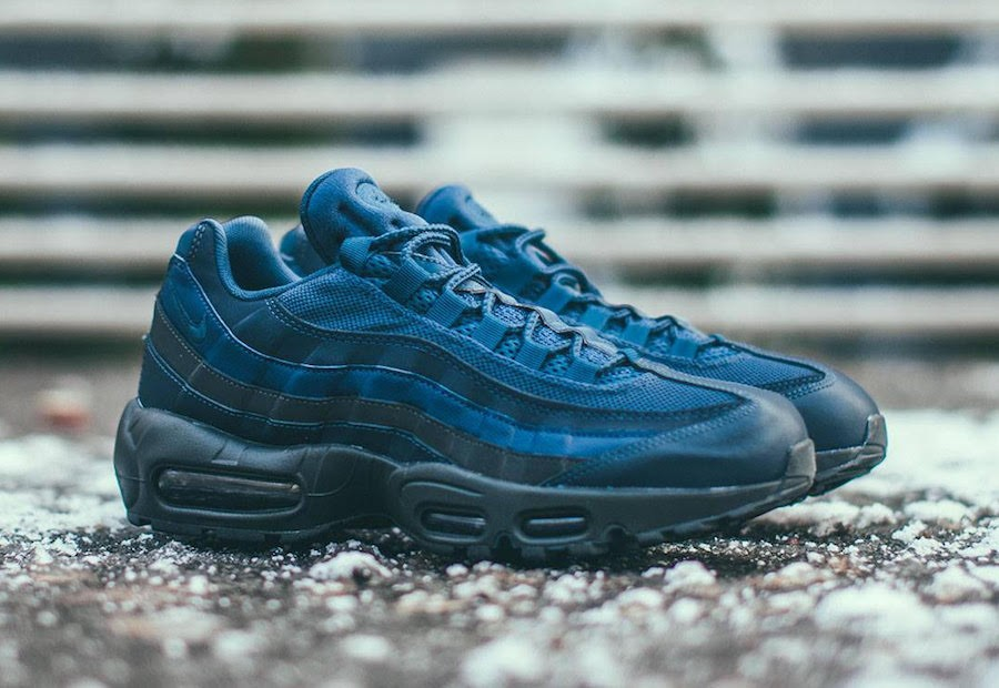 Nike Air Max 95 Essential (Azul/Azul) 749766-400