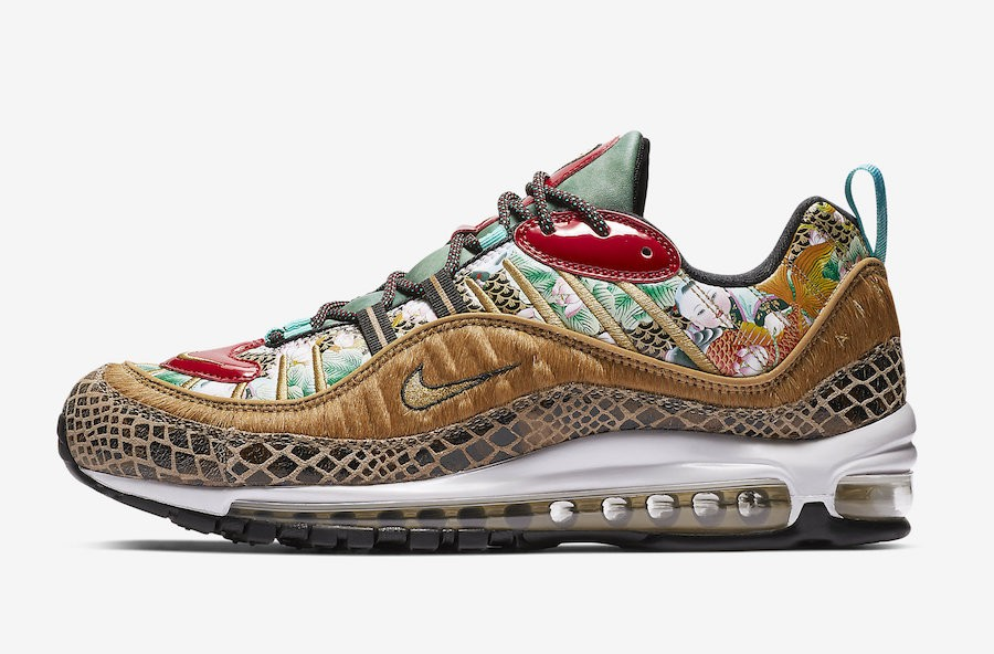 "Nike Air Max 98 ""Chinese New Year"" (Multicolor) BV6649-708"